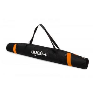 Чехол для лыж черно оранжевый 160 см