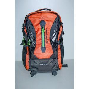 Рюкзак черно оранжевый 70л sport