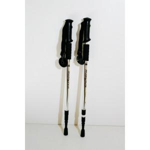 Трекинговые палки серебряные