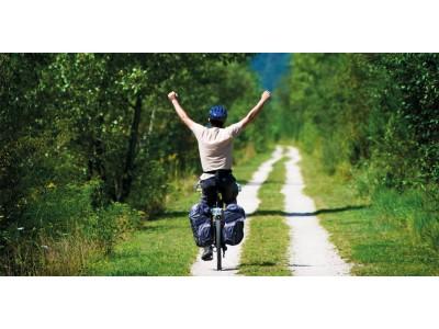 Як кататися на велосипеді без рук?