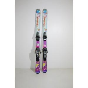 Гірські лижі Rossignol бу 120 см довжина  (Л016)