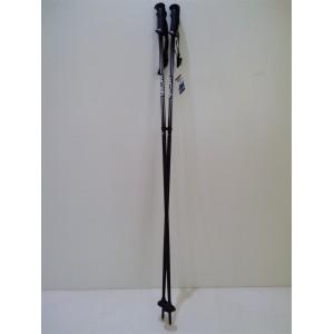 Палки гірськолижні чорні 120 см