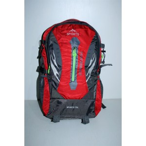Рюкзак червоно сірий sport 70 літрів