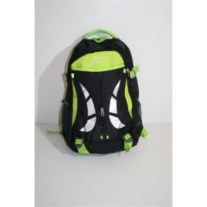 Рюкзак черно-зеленый