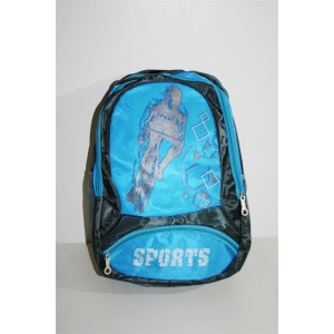 Рюкзак велосипедний синій 30 літрів