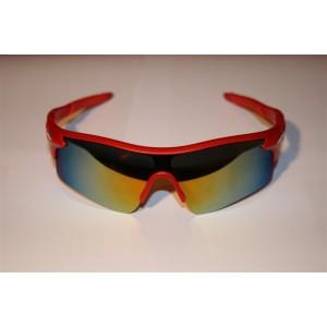 Вело очки Красные